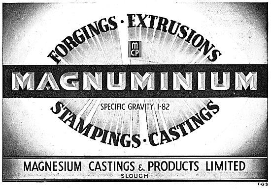 Magnesium Castings - Magnuminium