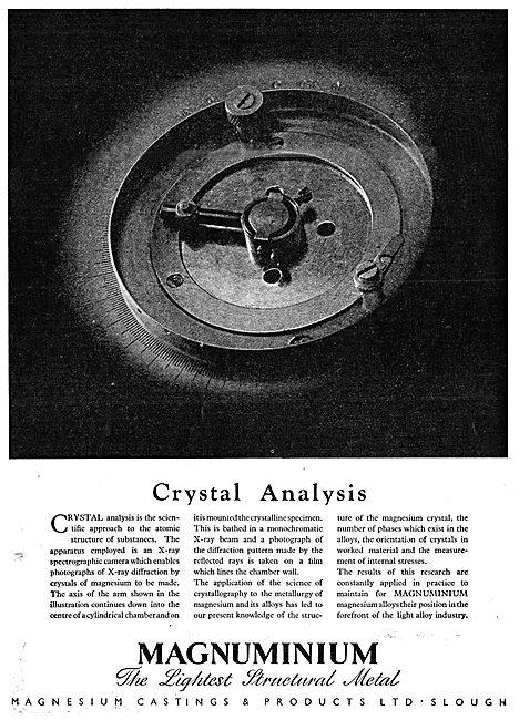 Magnesium Castings - Maguminium