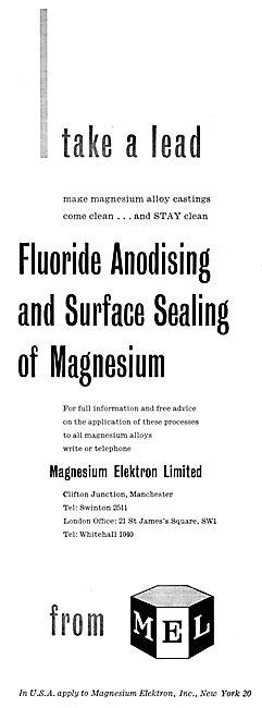 Magnesium Elektron Alloy Castings