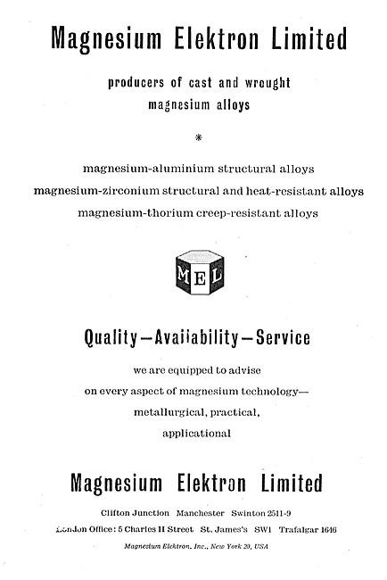 Magnesium Elektron Wrought Magnesium Alloys