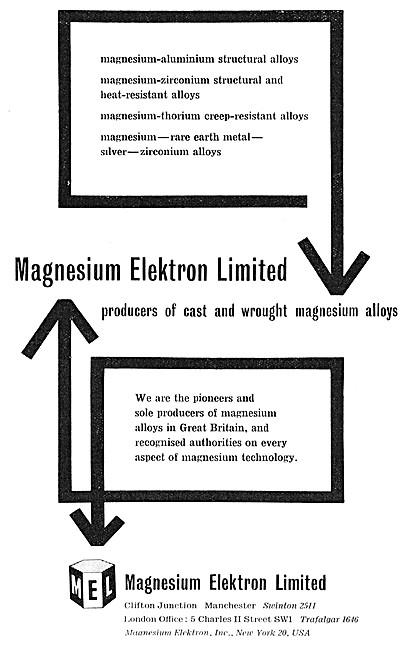 Magnesium Elektron Cast & Wrought Magnesium Alloys