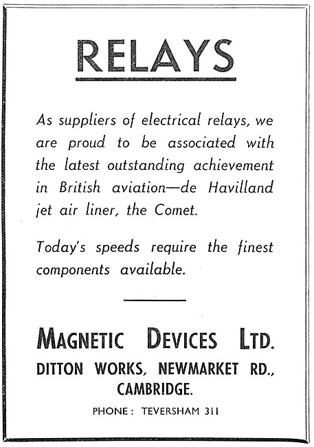 Magnetic Devices. Electrical Relays