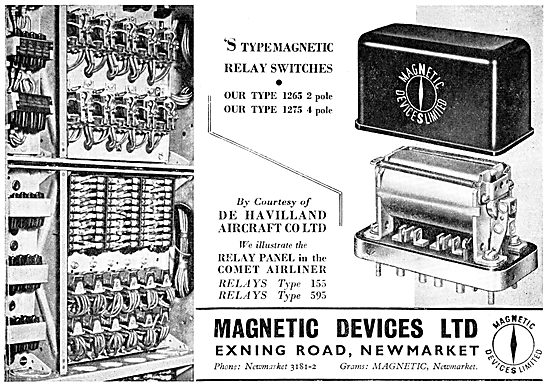 Magnetic Devices Ltd - Electrical Relays