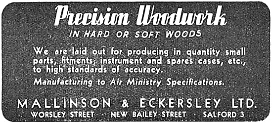 Mallinson & Eckersley - Precision Woodwork