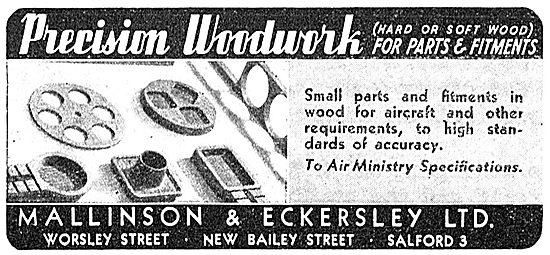 Mallinson & Eckersley - Precision Wooden Parts
