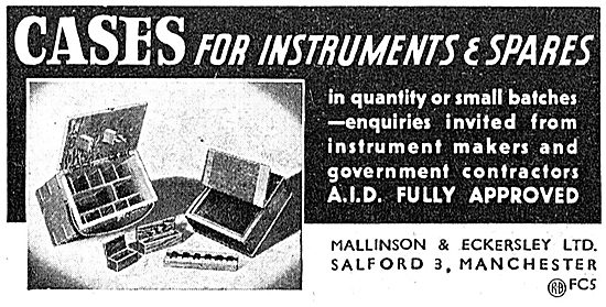 Mallinson & Eckersley - Wood Instrument Cases
