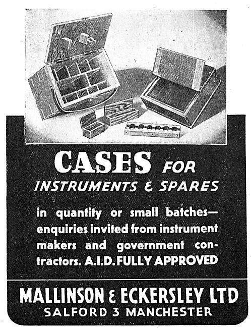 Mallinson & Eckersley Wooden Instrument Cases