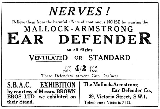 Mallock-Armstrong Ear Defenders