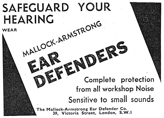 Mallock Armstrong Ear Defenders