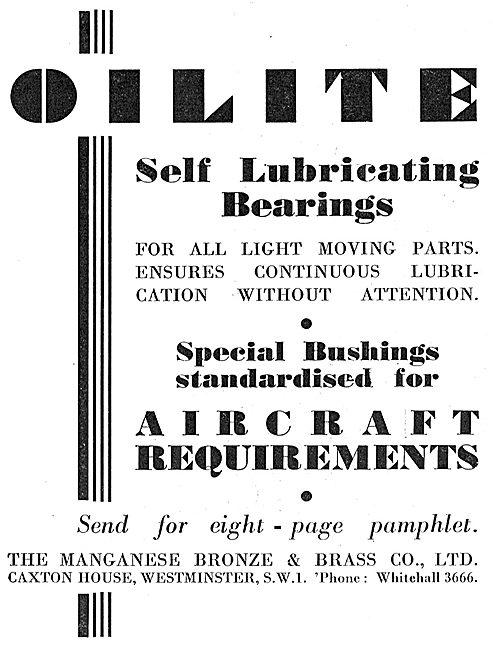 Oilite Self Lubricating Bearings & Bushes