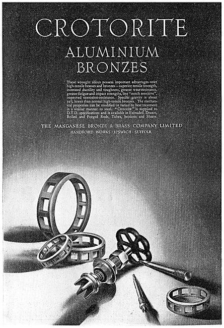 Managanese Bronze & Brass Co - Aluminium Bronzes