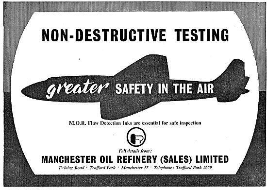 Manchester Oil Refinery - NDT MOR Flaw Detection Inks