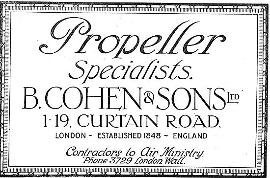 B.Cohen & Sons - Propeller Specialists