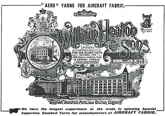 William Heaton & Sons Ltd - Aero Yarns.
