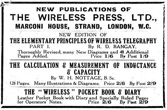 Marconis Wireless Telegraph - Wireless Manuals