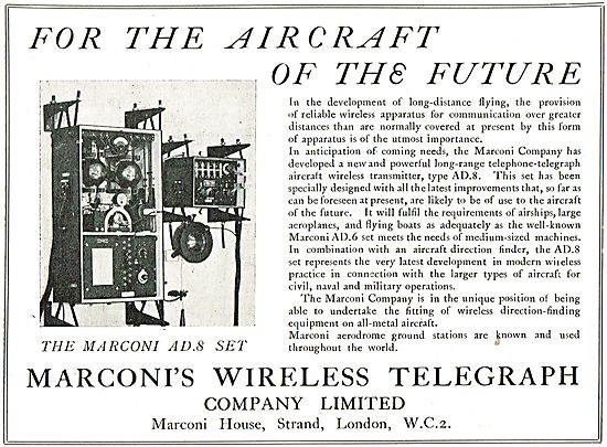 Marconi AD8 Wireless For Aircraft Of The Future