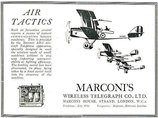 Marconi Wireless In Air Tactics