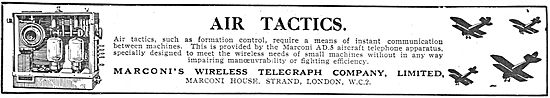 Air Tactics: Marconi Aircraft Telephone Apparatus