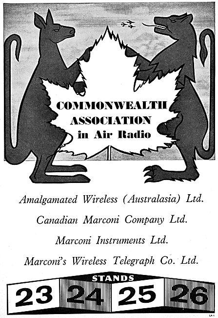 Marconi - AWA Amalgamated Wireless Australasia