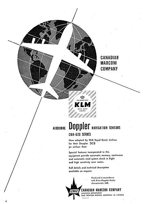 Marconi CMA-620 Airborne Doppler Navigation Sensors