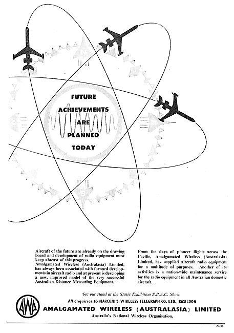 Amalgamated Wireless (Australasia) - AWA. Aircraft Radio Systems
