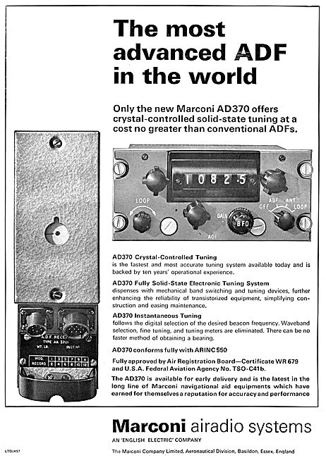 Marconi AD370 ADF
