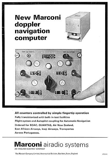 Marconi Doppler Navigation Computer