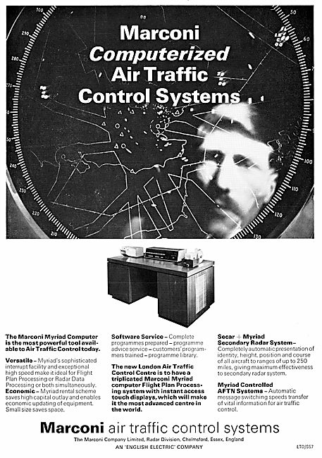 Marconi Computerized Air Traffic Control Systems