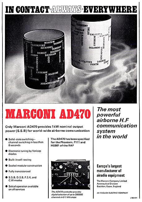 Marconi AD470 Airborne HF