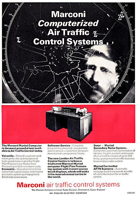 Marconi Myriad Computerized ATC Control Systems