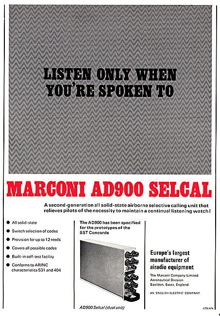 Marconi AD900 SELCAL
