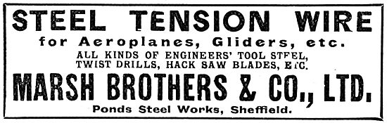 Marsh Brothers Steel Tension Wire - 1917