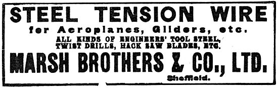 Marsh Brothers Steel Tension Wire. 1919