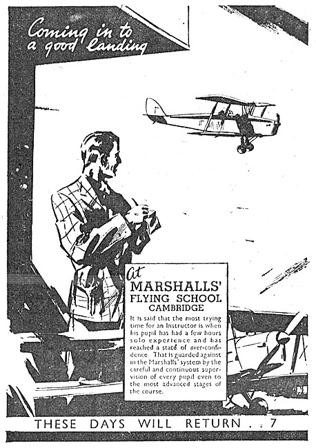 Marshalls Flying School Cambridge