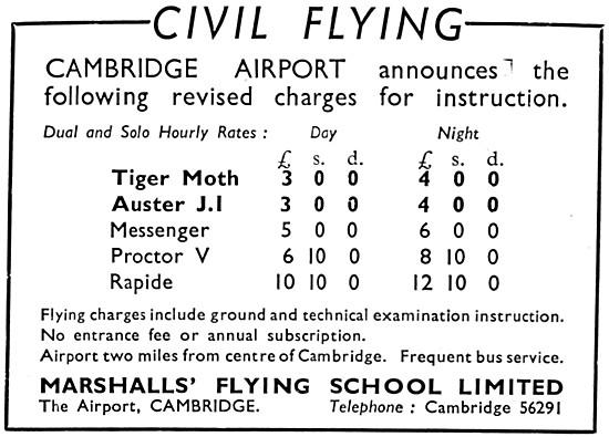 Marshalls Flying School - Marshalls Of Cambridge