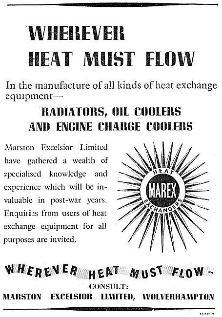 Marston Excelsior Heat Exchangers - Radiators
