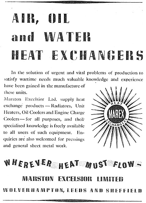 Marston Excelsior Heat Exchanger Equipment