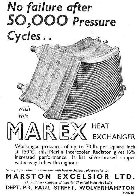 Marston Excelsior Marex Heat Exchangers