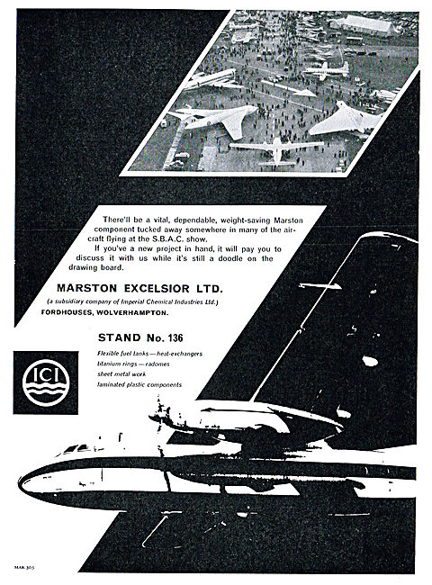ICI: Marston Excelsior At Farnborough
