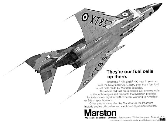 Marston Excelsior Aircraft Fuel Equipment