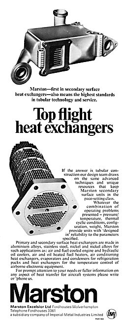 Marston Excelsior Heat Exchangers
