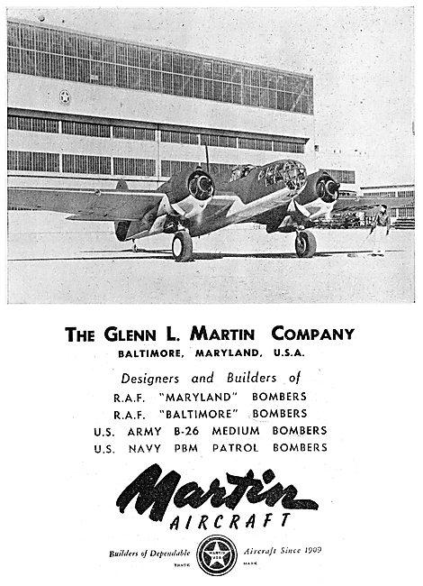 Martin Maryland - Baltimore - B26 - PBM