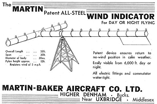 The Martin Patent All Steel Wind Indicator