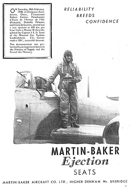 Martin-Baker Ejector Seat