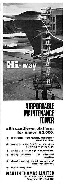 Martin Thomas Hi-Way Aircraft Servicing Platforms & Staging
