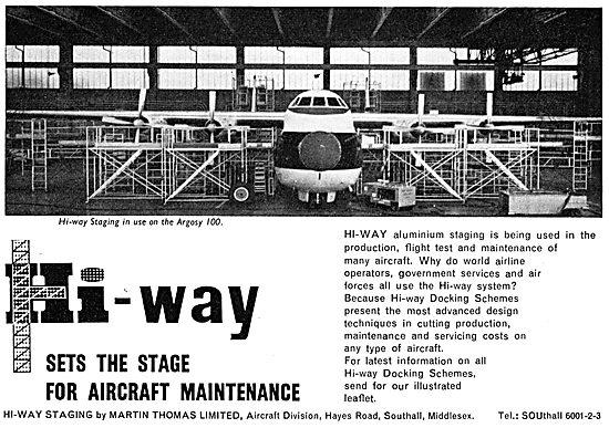 Martin Thomas Hi-Way Aircraft Servicing Platforms. Staging