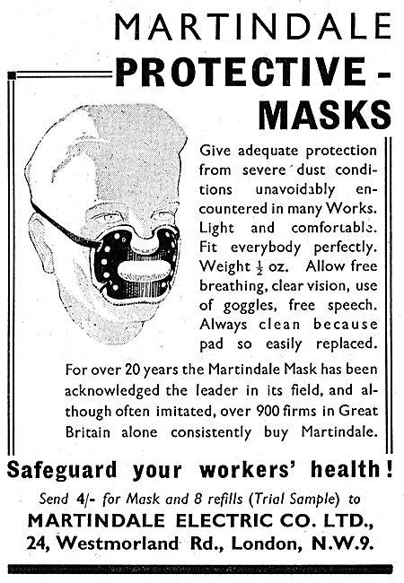 Martindale Protection Face Masks
