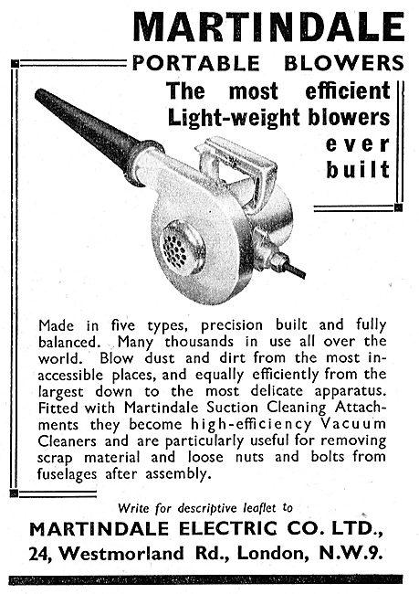 Martindale Industrial Vacuum Cleaners & Blowers