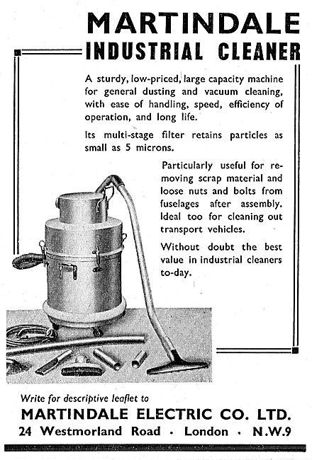 Martindale Industrial Vacuum Cleaners