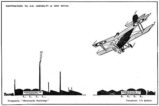 Martinsyde Aircraft
